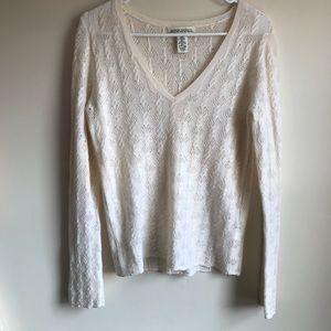 Banana Republic Vtg Extra Fine Merino Wool Sweater